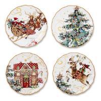 Williams Sonoma Christmas Plates | eBay
