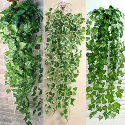 Efeu Ranke künstliches Efeu hängend  Efeubusch Kunstpflanzen Efeuhänger Pflanzen