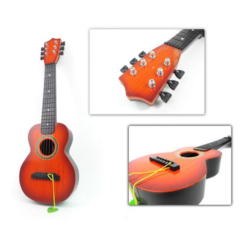 21 Kinder Akustik Gitarre 6 Saiten Training Kindergitarre Spielzeug DHL