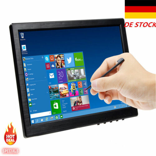 10.1 Zoll FHD IPS POS Touch Screen CCTV 1280*800 Monitor HDMI/VGA/USB Speaker DE