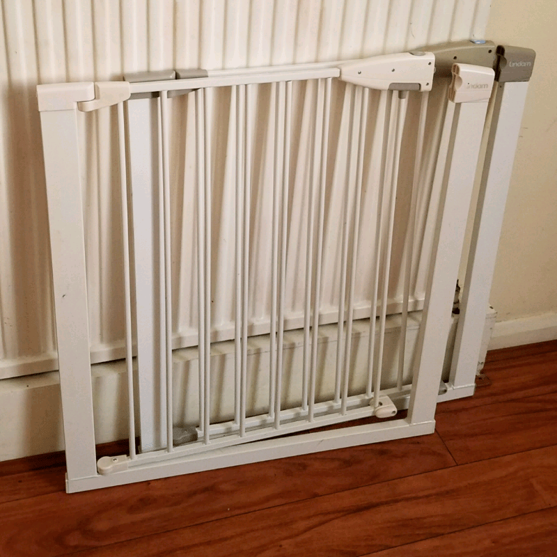 2 x lindam stairgates stair gate safety gate | in ...