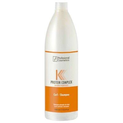 Locken Shampoo für lockiges Haar Curly Rizos mit Keratin 1000ml