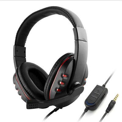 3.5 mm Gaming Headset Mic Stereo Surround Kopfhörer für PS4-/ Xbox PC Xboxone