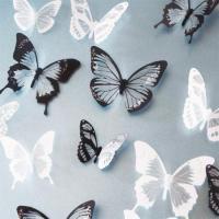 18pcs DIY 3D Butterfly Wall Stickers Art Decal PVC ...