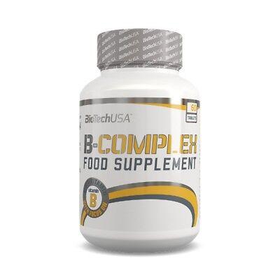 BioTech USA Vitamin B-Complex 60 Tabletten Eisen Kupfer Chrom BioTechUSA