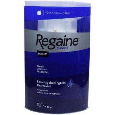REGAINE Maenner SCHAUM Haarausfall 3x60 ml (180ml)  PZN9100275