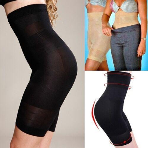 US Women's High Waist Shapewear Shorts Tummy Control Thigh Slimmer Panty 2