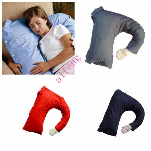 funny boyfriend arm throw pillow body