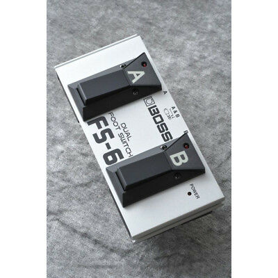 BOSS FS-6 Dual Foot Switch NEW Guitar Effects Pedal F/S