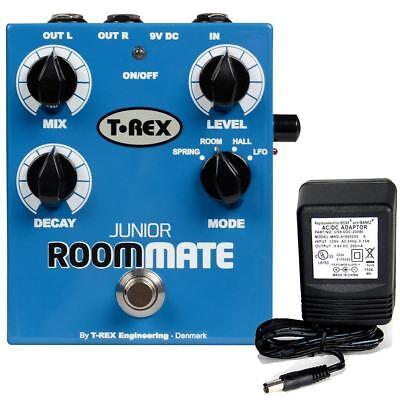 T-Rex Room-Mate Junior 4 Mode Reverb pedal w/ 9v power supply