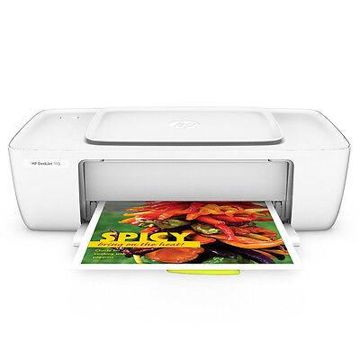 HP Deskjet 1110 Tintenstrahldrucker Drucker Kopierer Scanner weiß USB 2.0 NEU