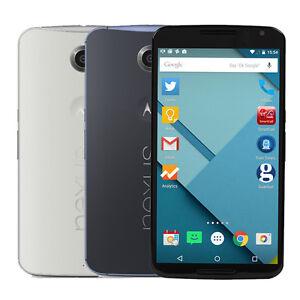 Factory Unlocked Motorola Nexus 6 XT1103 Smartphone 32GB 64GB White Blue