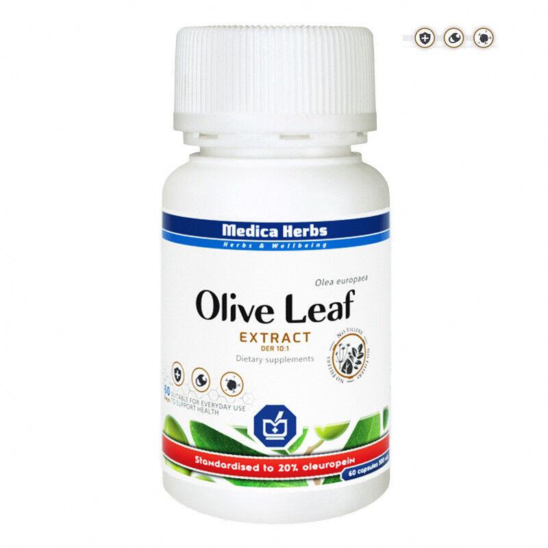 Olivenblatt Extrakt  500mg 60kaps/ 120kaps 20% Oleuropein