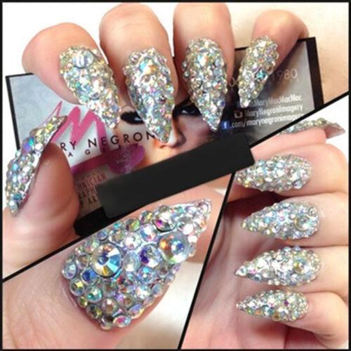 300pcs nail art rhinestones glitter
