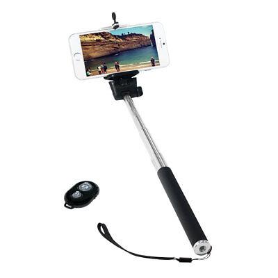 Selfie Stick Monopod Stange Bluetooth Smartphone Android bis 109cm Fernauslöser