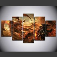 Framed HD Canvas Wall Art World of Warcraft Cataclysm ...