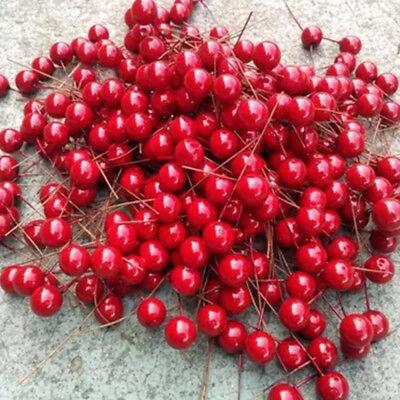 Dekorativ Beere Früchte Beeren künstliche Blumen für Weihnachten Wohndeko