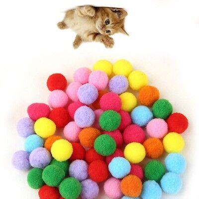 Kitty Cats Ball 10-100 Stück Plüschball mit Catnip 4 cm Katzen-Spielzeug