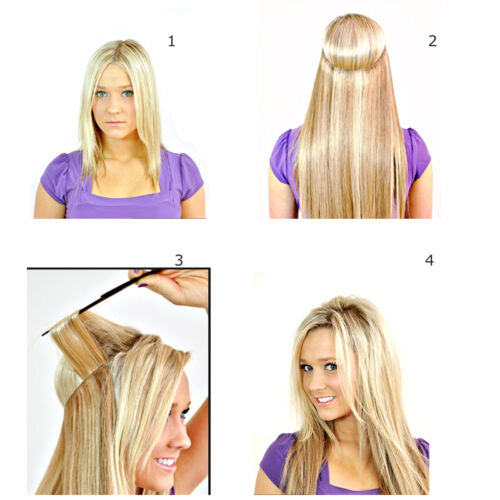 invisible remy hair extension wire
