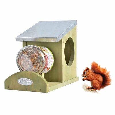 Eichhörnchen-Futterhaus Futterstation WA28 ohne Futterglas WA28