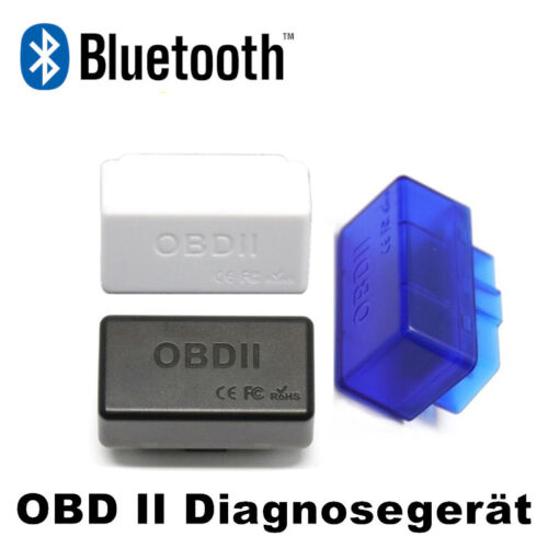 ELM327 Mini Bluetooth OBD II OBD2 Scanner CAN BUS OBDII Interface  Diagnosegerät