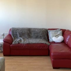 Corner Sofas Glasgow Gumtree 3 Seater Recliner Sofa Uk Red Leather And Armchair In City Centre