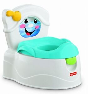 Fisher price learn to flush potty training learning toilet new free