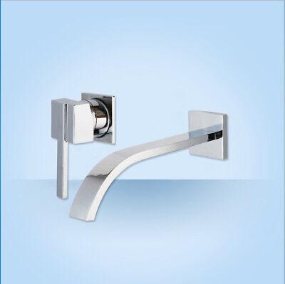 2pcs chrome bathroom bathtub faucet