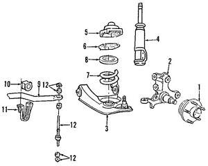 FORD-OEM-94-04-Mustang-Front-Suspension-Hub-Bearing-1R3Z1104B