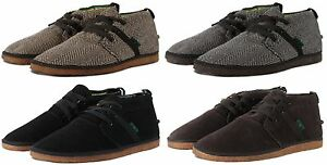 Mr. Clark Bob Marley One Love Pipeline Chukka Casual Mens Shoes