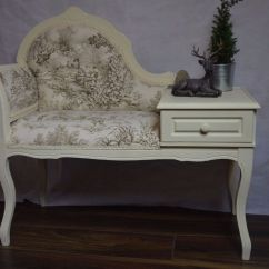 Ikea Rocking Chairs Wicker Dining Shabby Chic Vintage Telephone Seat Chair Table Chaise Longue | In Whitefield, Manchester Gumtree