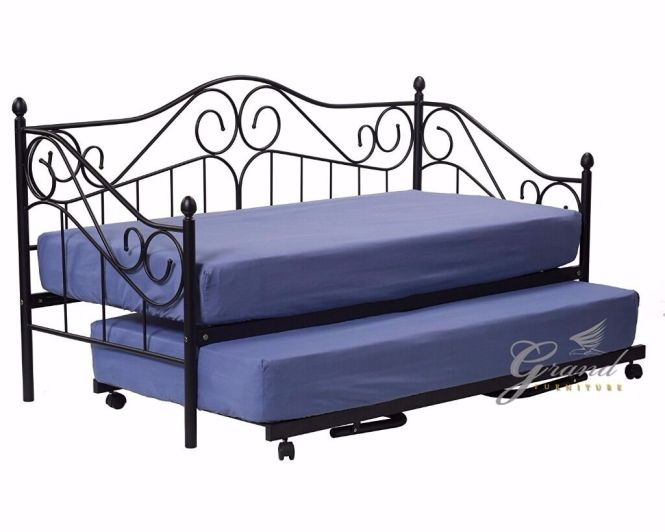 Day Bed With Trundle No Mattresses