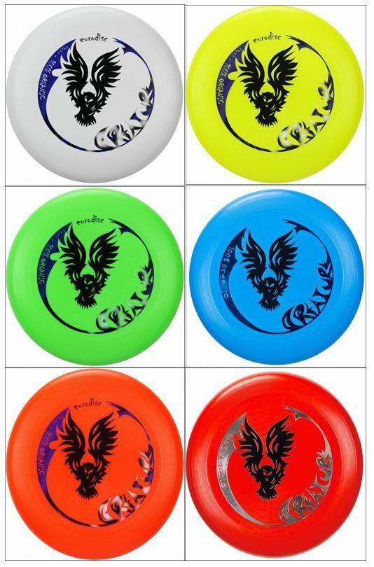 Ultimate Eurodisc Frisbee 175g/135g Kidzz Wurfscheibe Schule Verein Garten Urlau