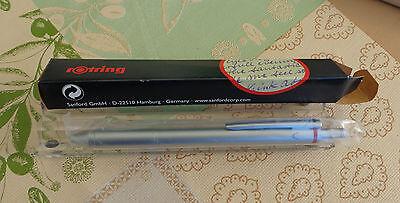 Rotring Multipen, Trio-Pen,  2 Kugelschreiber blau,rot und Bleistift 0,5