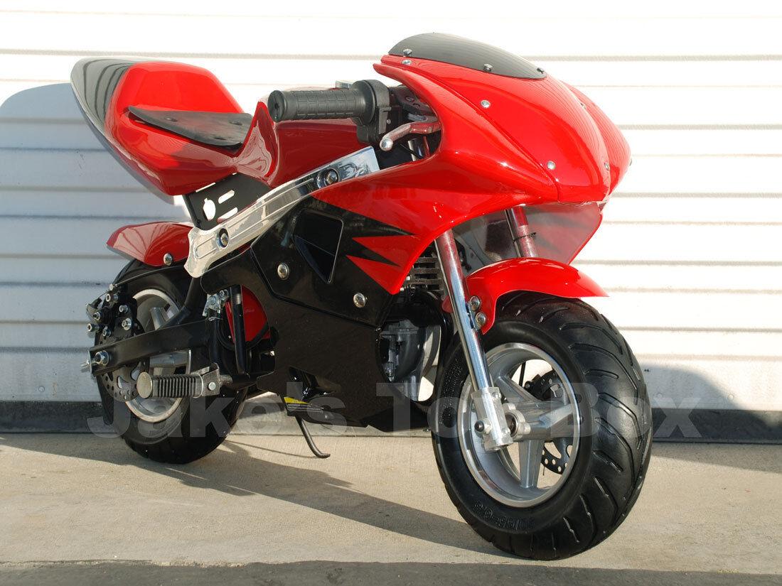 Mini Gas Motorcycles Pocket Bikes