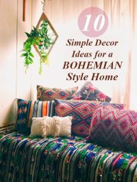 10 DECOR IDEAS FOR YOUR BOHO HOME