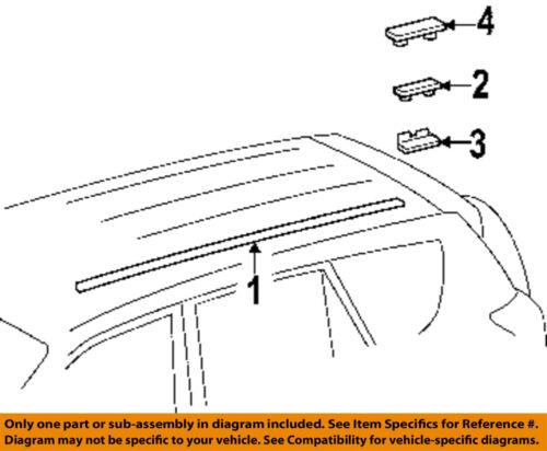 Toyota Roof Drip Molding Clip Right 7556102020 | eBay