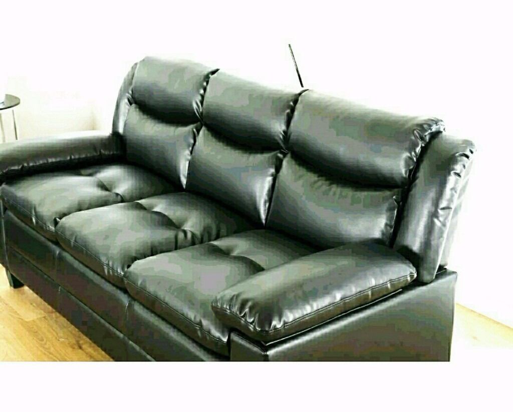 black leather sofas on gumtree kivik modular sofa reviews in luton bedfordshire