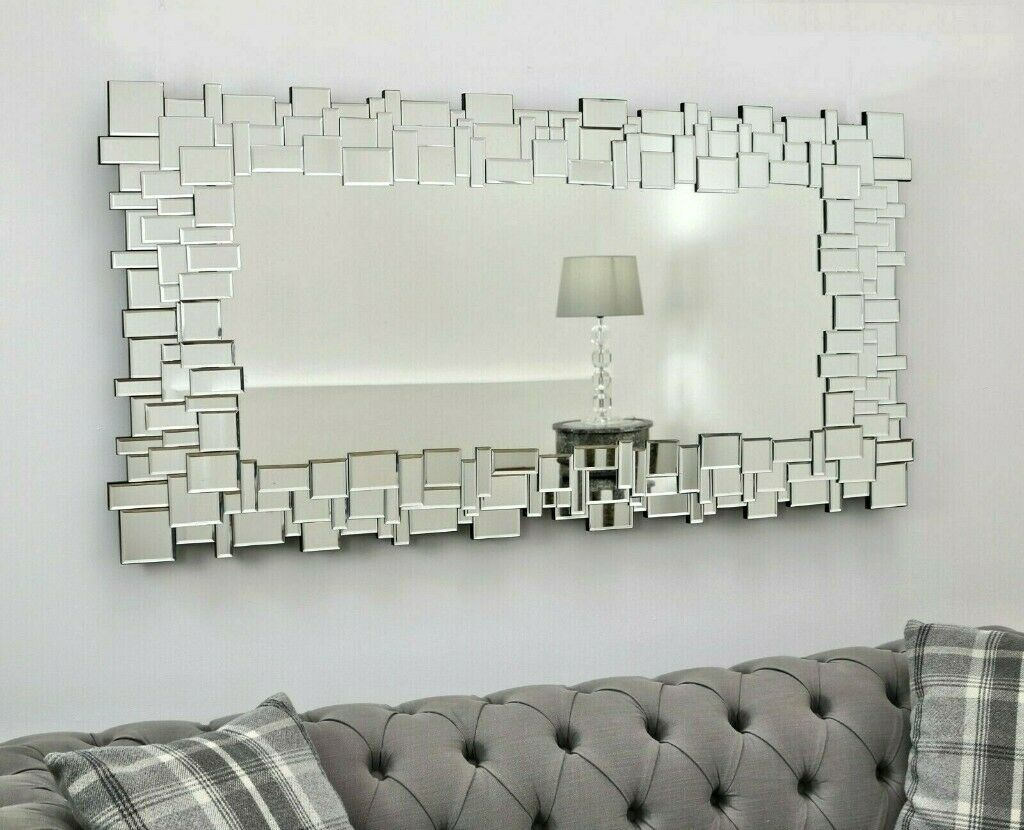 Beautiful Large Modern Wall Mirror 140cm X 70cm New For 120 In Kidsgrove Staffordshire Gumtree