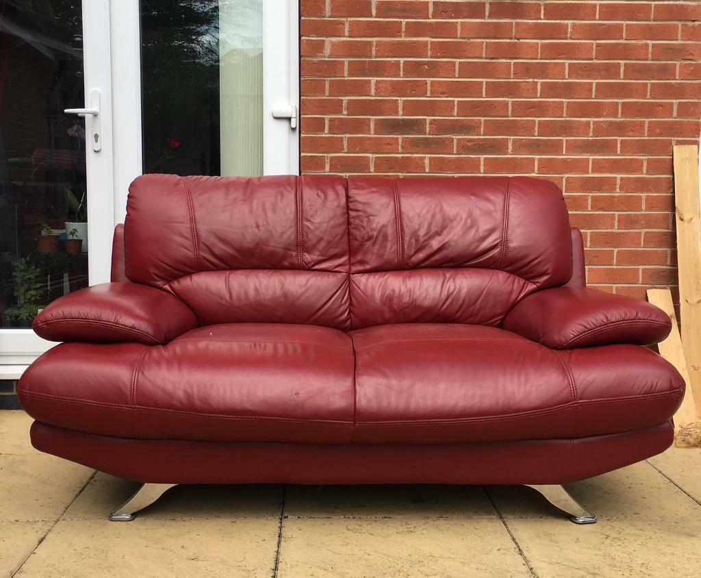 2 seater red leather sofa bed small faux sectional brokeasshome