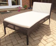 Two Ikea Garden Day Beds Chaise Longue In East Grinstead