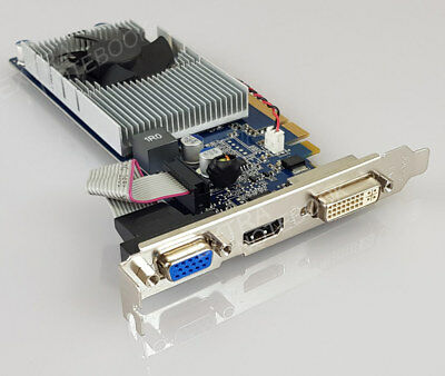 NVIDIA GeForce G210 512MB DDR2 Grafikkarte PCI Express 2 HDMI DVI VGA