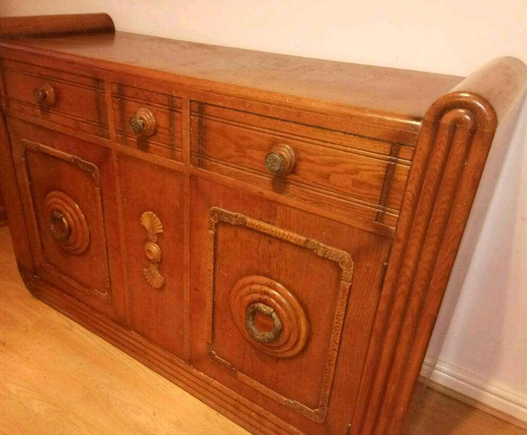 art deco sofas on gumtree traditional style sectional stunning 1920 39s sideboard in swansea