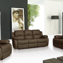 Recliner Sofa Set 3 2 1 Teal Velvet Ebay Sale New Luxury Valencia 432 431 Seater Leather
