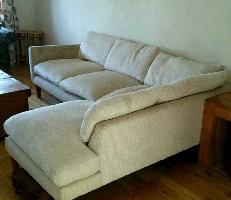 cheap 2 seater sofa covers patches for leather sofas corner laura ashley cream chaise   in skelmorlie ...