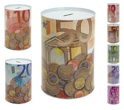 Spardose Metallspardose Eurospardose Geldspardose Sparschwein XXL + Jumbo XXL