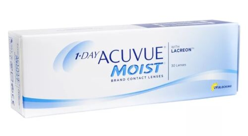 1–Day Acuvue Moist Tageslinsen 9.0 -1.25