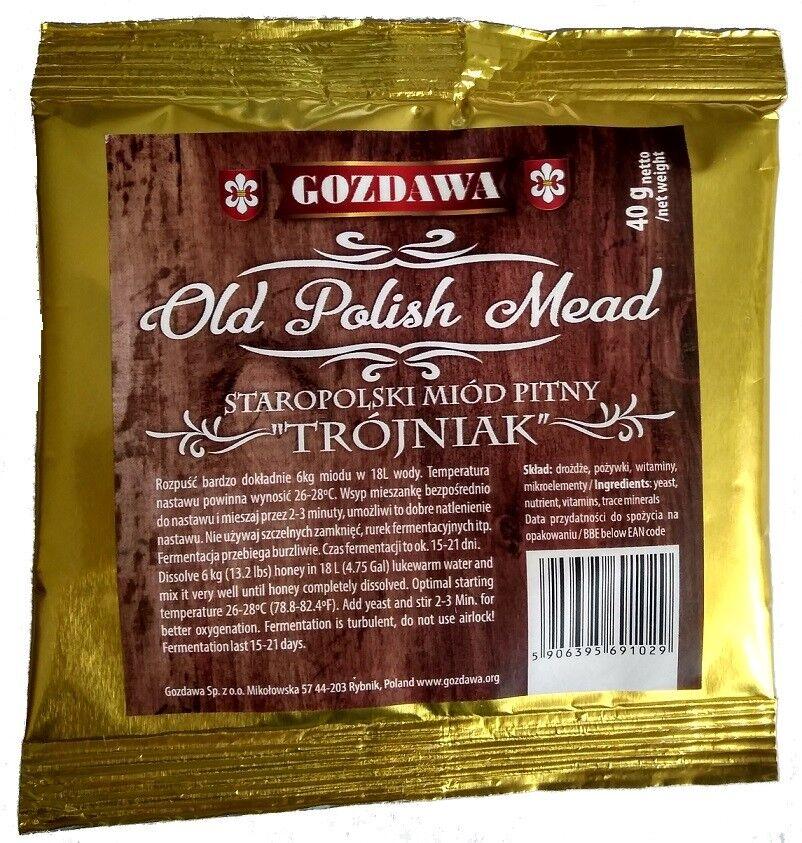 Gozdawa Old Polish Mead Met Honigwein Honig Met Alkohol Gärhefe Hefe Brennhefe