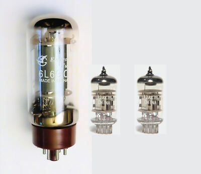 6L6 & 12AX7 Valve kit for Fender Champ 12 guitar amplifier amp set