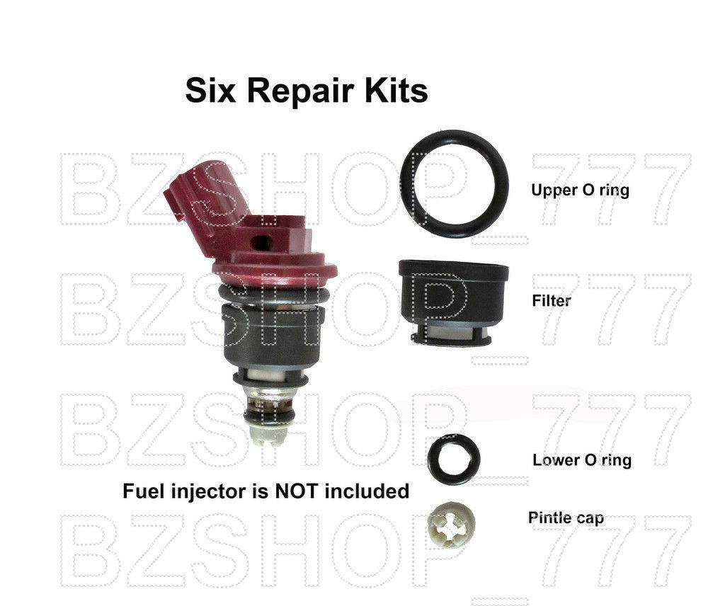 Fuel Injector Repair Kit Filters Seals O-Rings fits Nissan